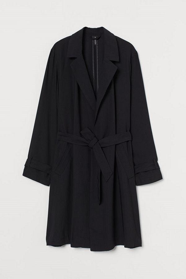 H&M Lätt kappa svart