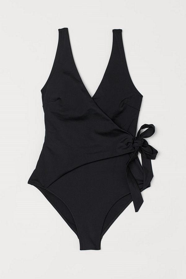 H&M Shape-baddräkt svart