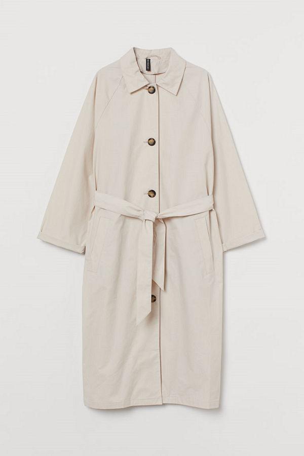 H&M Oversized kappa beige
