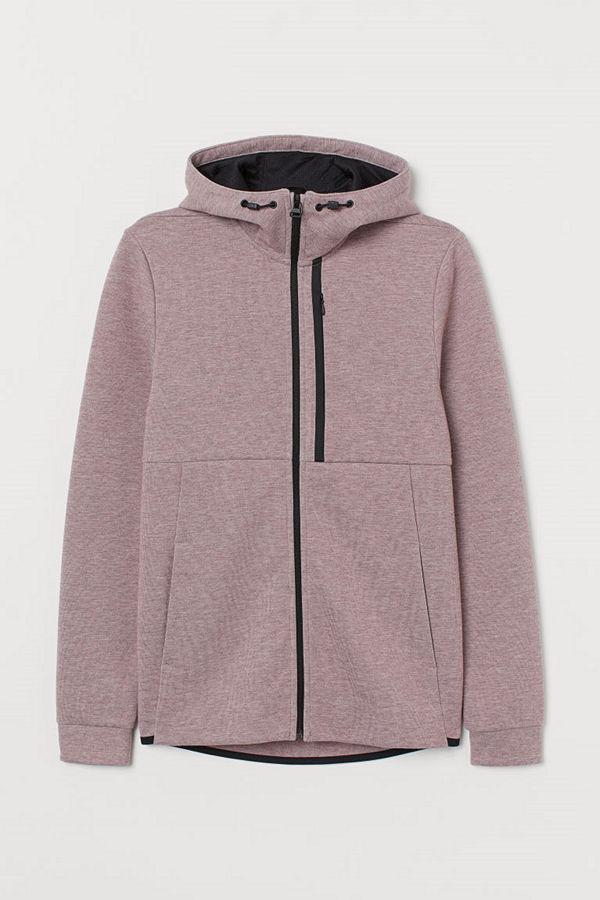 H&M Sportjacka Regular Fit rosa