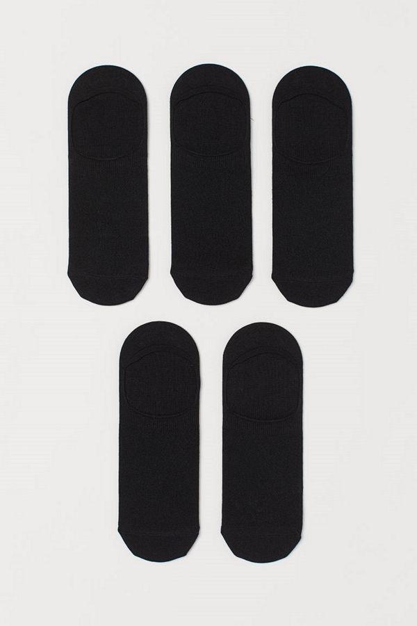 H&M 5-pack COOLMAX® strumpor svart