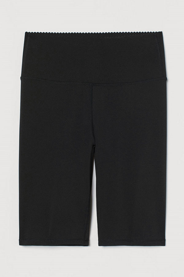 H&M Cykelbyxa Shaping svart