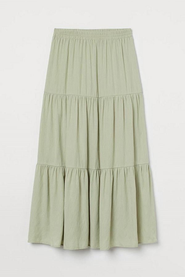 H&M Kjol grön