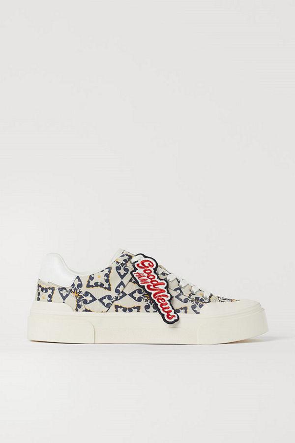 H&M Sneakers gul