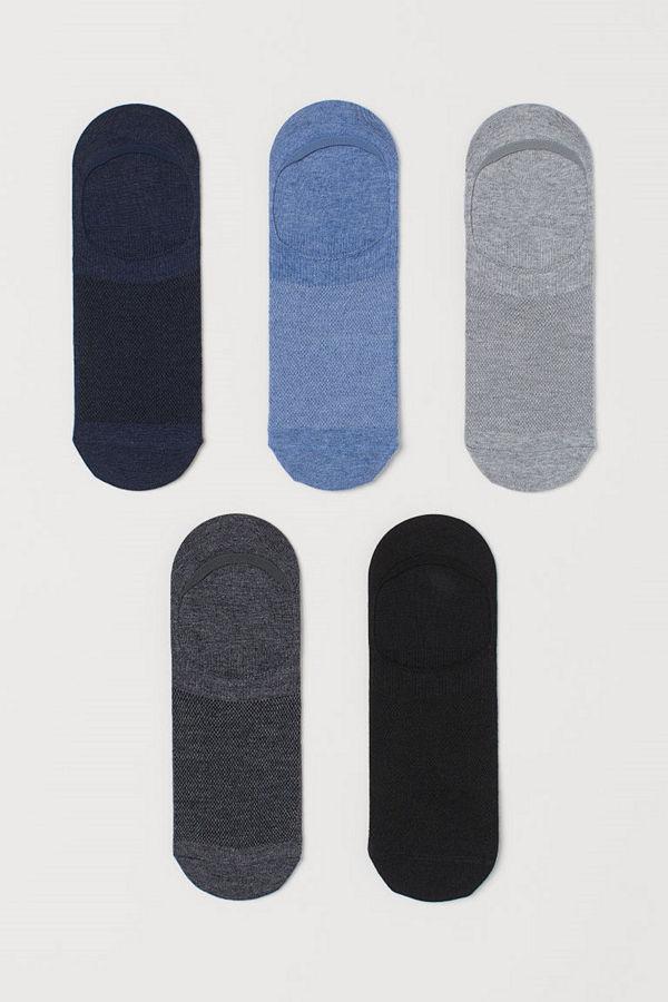 H&M 5-pack COOLMAX® strumpor blå