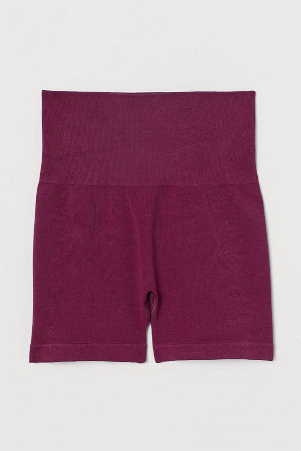 H&M Seamless hotpants rosa