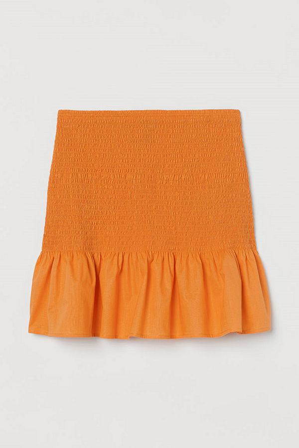 H&M Kjol orange