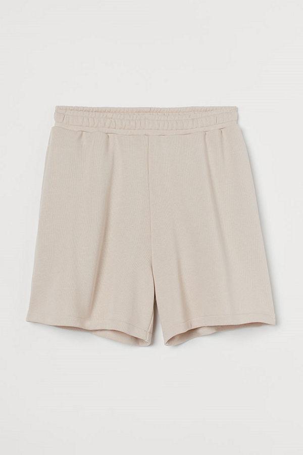H&M Sweatshirtshorts beige