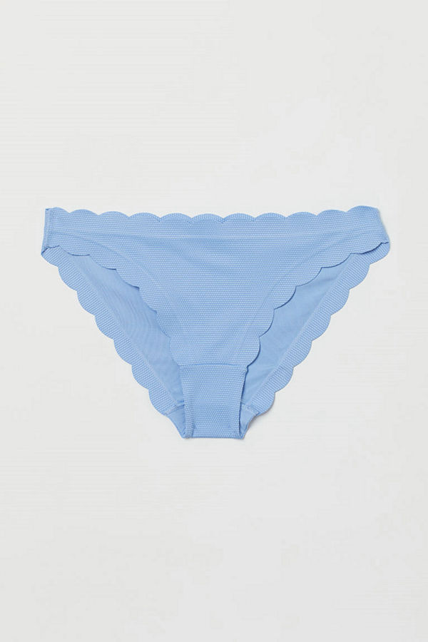 H&M Bikinitrosa briefs blå