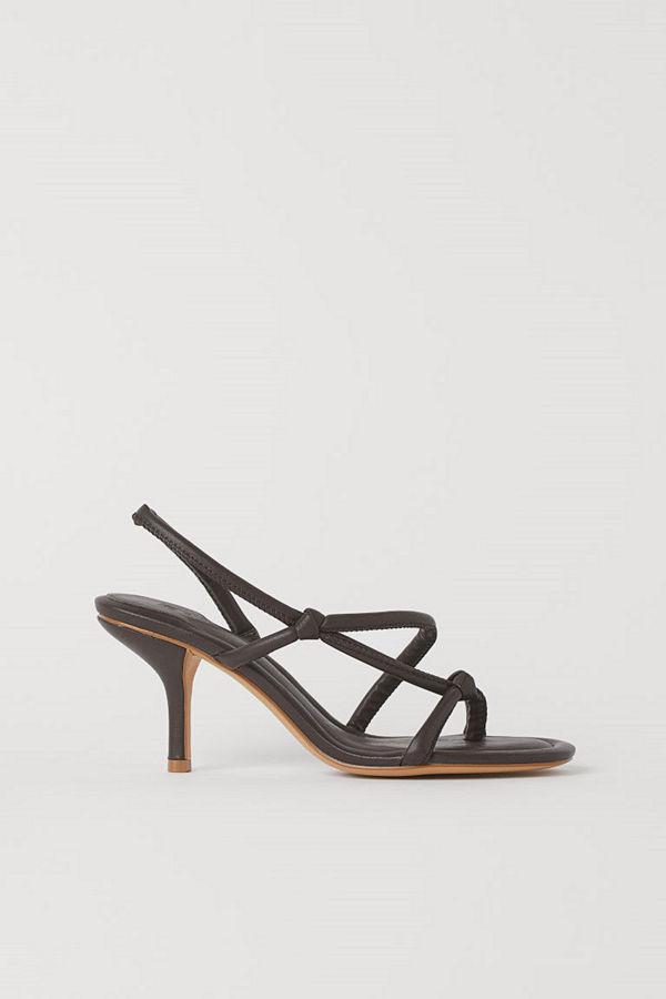 H&M Sandaletter brun