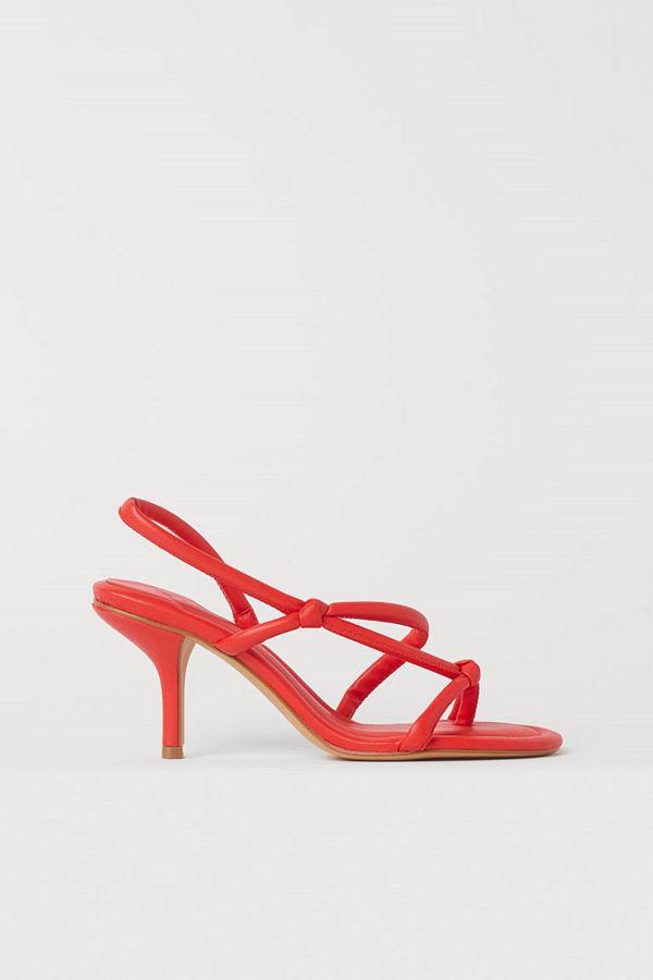 H&M Sandaletter orange