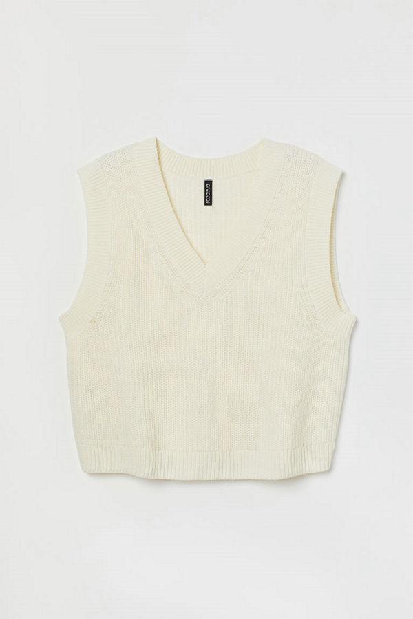 H&M H & M+ Slipover vit