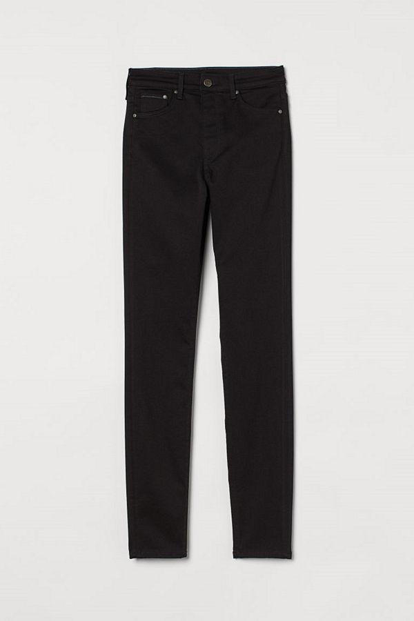 H&M Shaping High Jeans svart