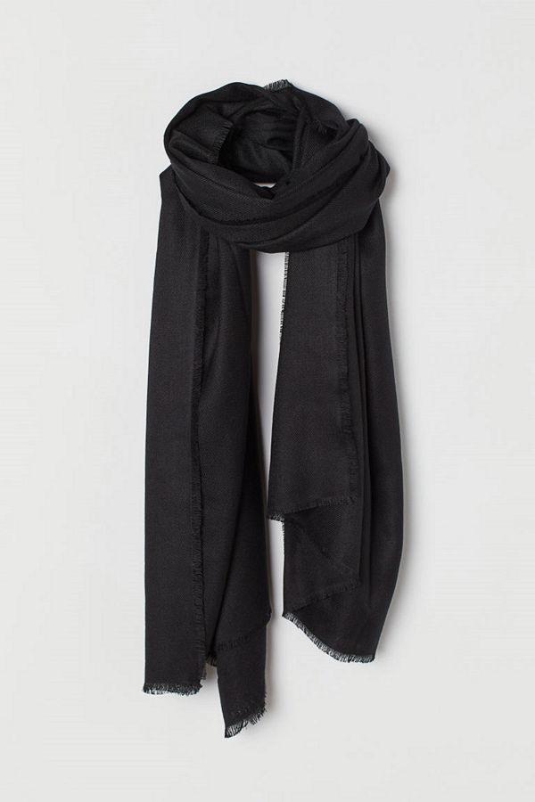 H&M Scarf svart