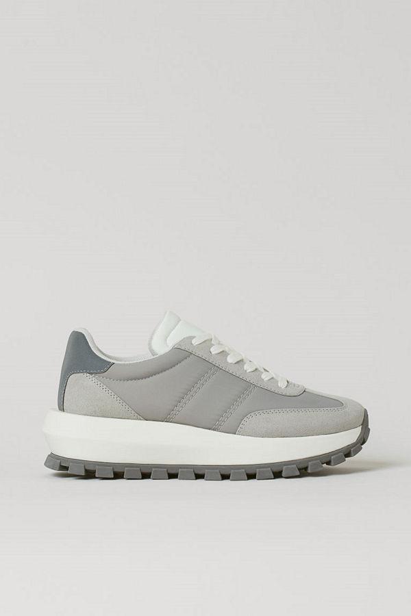 H&M Chunky sneakers grå