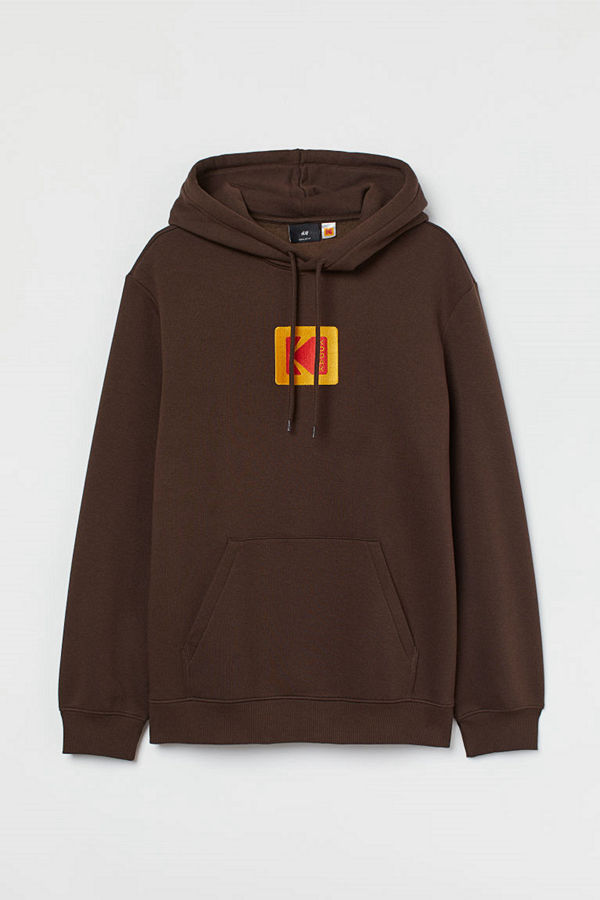 H&M Huvtröja brun