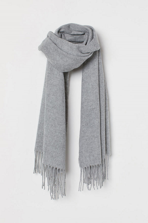 H&M Scarf grå