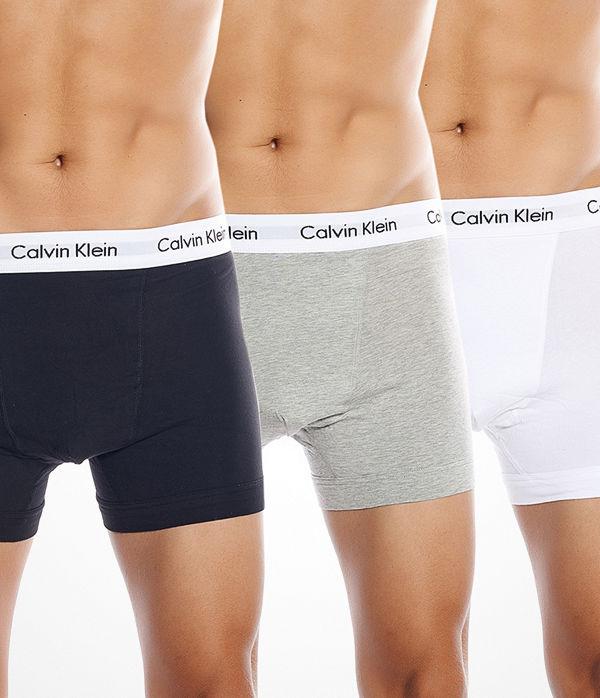 Calvin Klein 3-pack Boxer Black Grey White