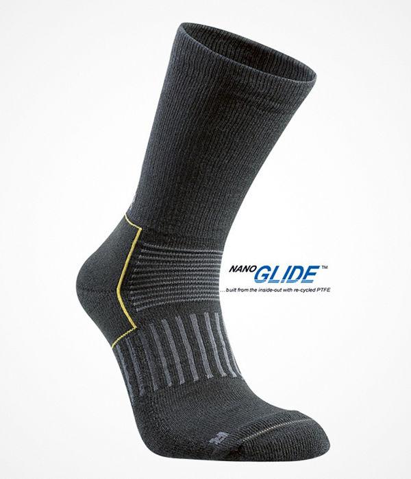 Seger Cross Country Mid Sock Black