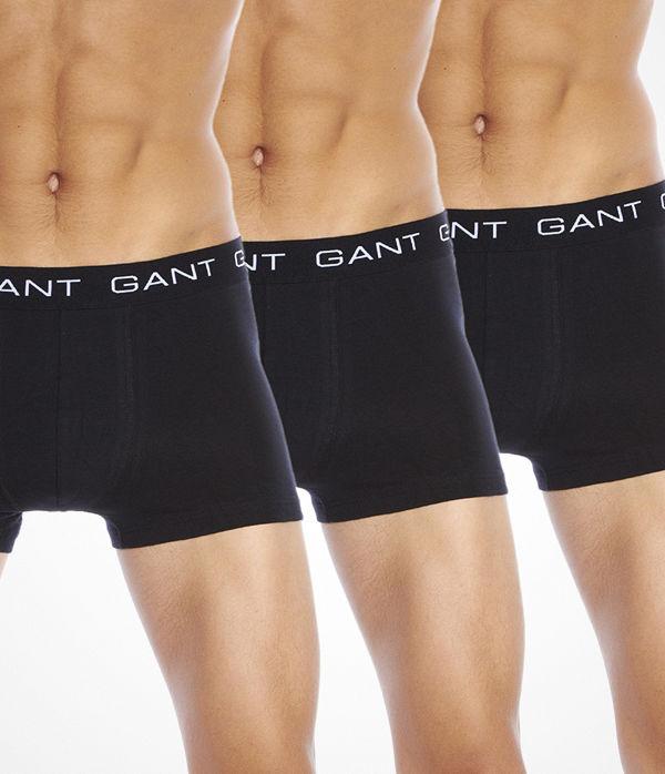 Gant 3-pack Trunk Black
