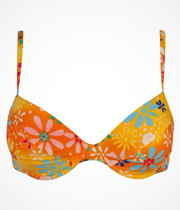 Sloggi Tonga Push Up Bikini  Orange patterned