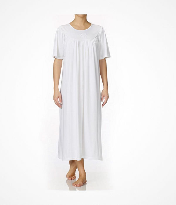 Calida Soft Cotton Nightshirt 34000 White