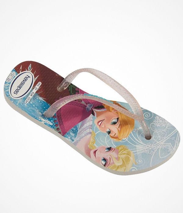 Havaianas Kids Slim Frozen Princess White Pattern-2
