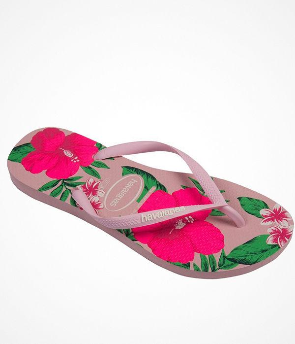 Havaianas Slim Floral Pink Floral