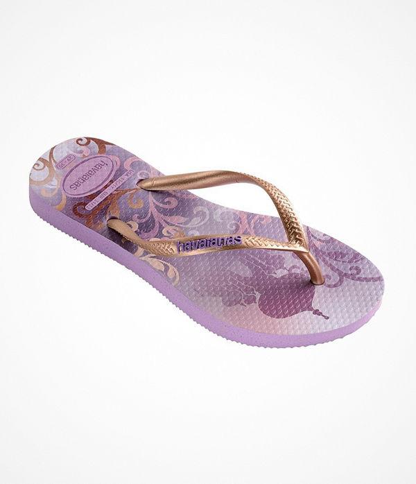 Havaianas Kids Slim Princess Lilac