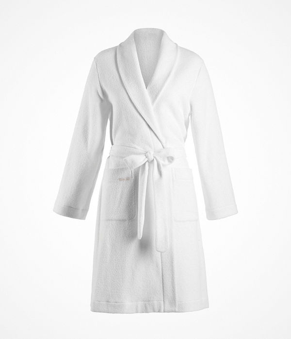 Hanro Robe Selection Plush  White