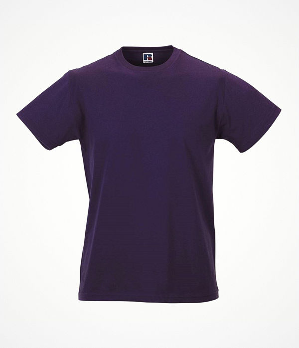 Russell Mens Slim Fit T Lilac