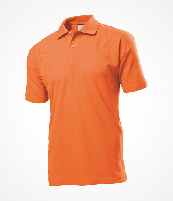 Stedman Polo Men Orange
