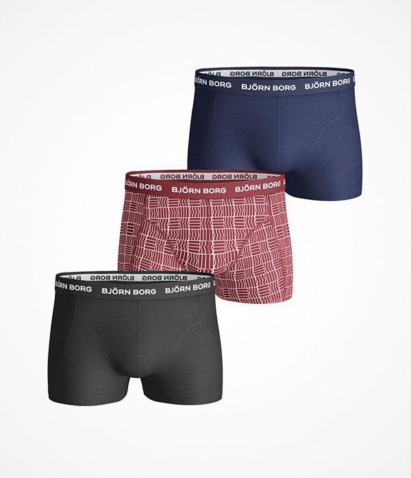 fc3e038919f Mode för män Kläder Underkläder Kalsonger. Björn Borg 3-pack Basic Short  Shorts Red/Blue