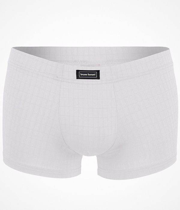 Bruno Banani Basic Check Line Short White
