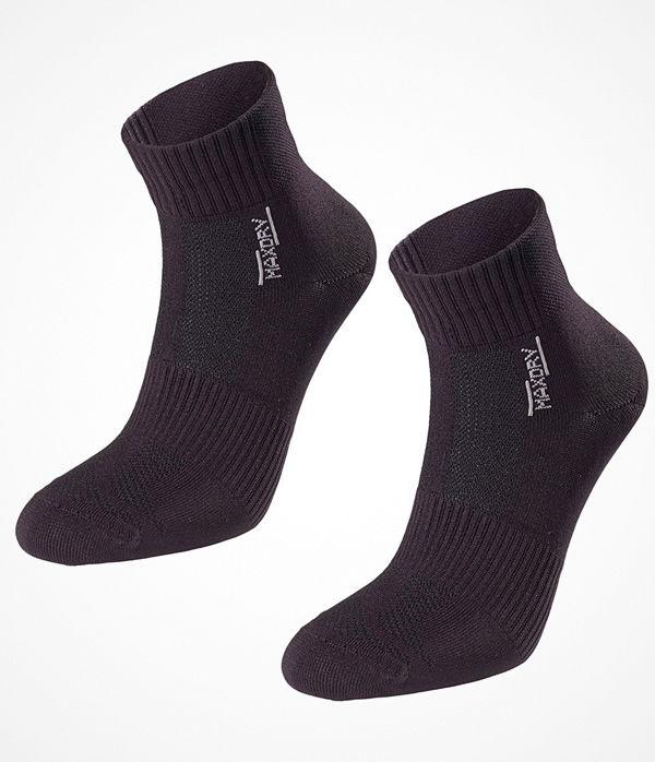 Pierre Robert 2-pack Mid Cut Socks Women Black