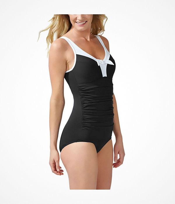 Swegmark Adamo Exclusive Swimsuit  Black/White