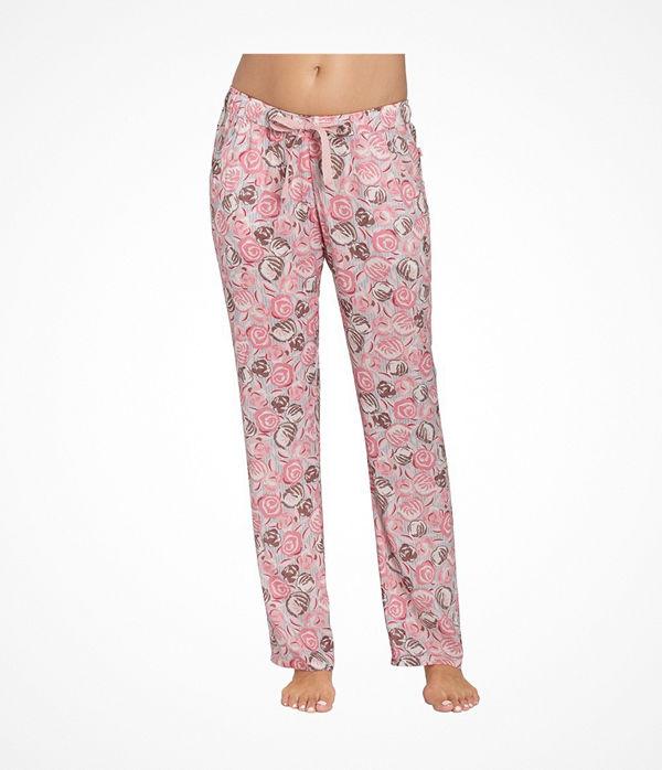 Triumph Mix and Match Trousers Viscose Pink Pattern