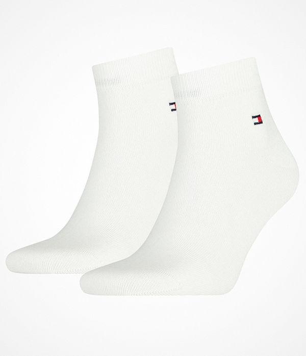 Tommy Hilfiger 2-pack Men Quarter Sock White