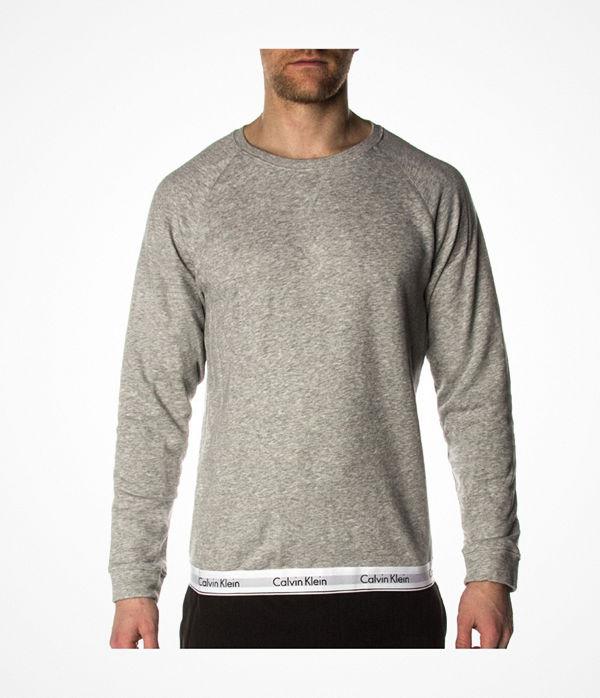 Calvin Klein Modern Cotton Sweatshirt Grey
