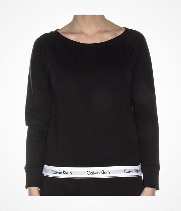 Calvin Klein Modern Cotton Top Sweatshirt Black