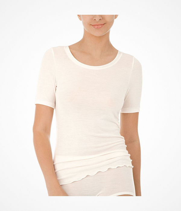 Calida True Confidence Shirt Short Sleeve Creme