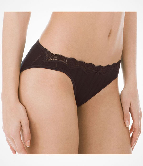 Calida Etude Toujours Low Cut Brief Black