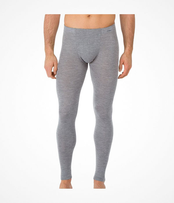 Calida Wool and Silk Pants Grey