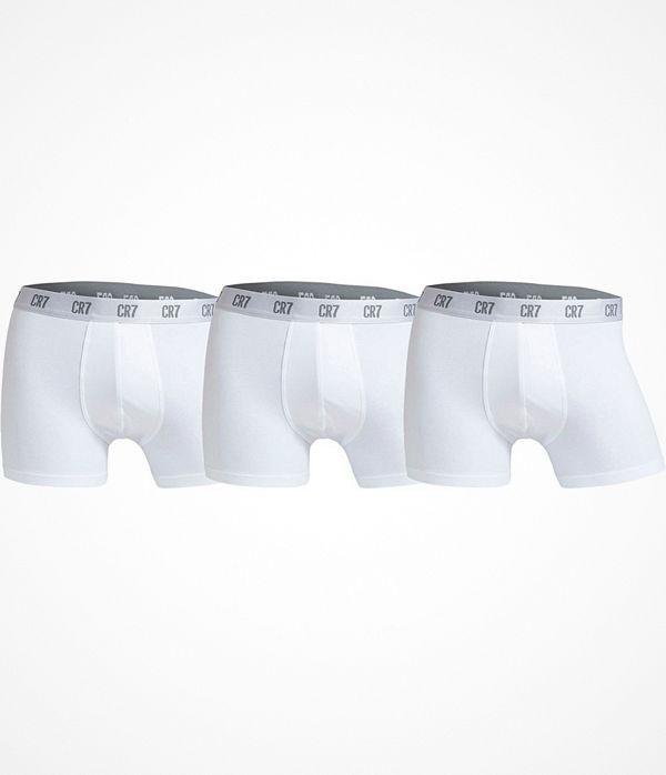 CR7 Cristiano Ronaldo 3-pack Men Trunk White