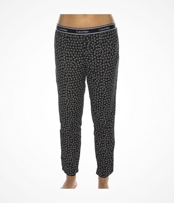 Calvin Klein Wovens Cotton Bottom Pant Black pattern-2