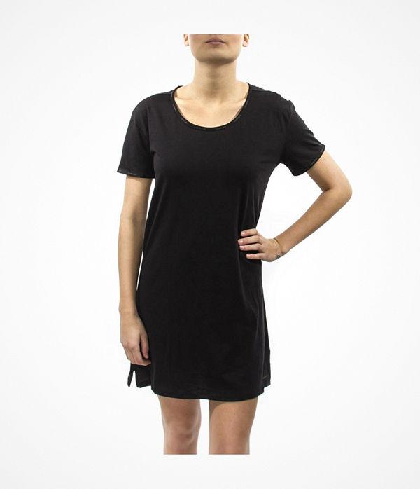 Calvin Klein Youthful Sleep Cotton Nightshirt Black