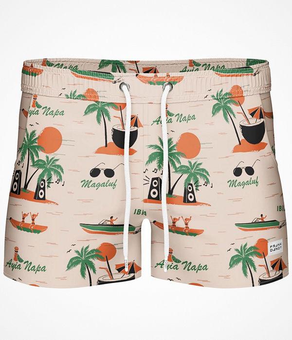 Frank Dandy Breeze Long Magaluf Swimshorts  Pattern-2