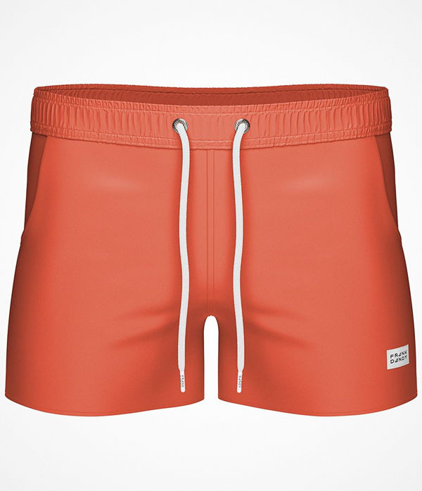 Frank Dandy Breeze Long Swimshorts  Orange