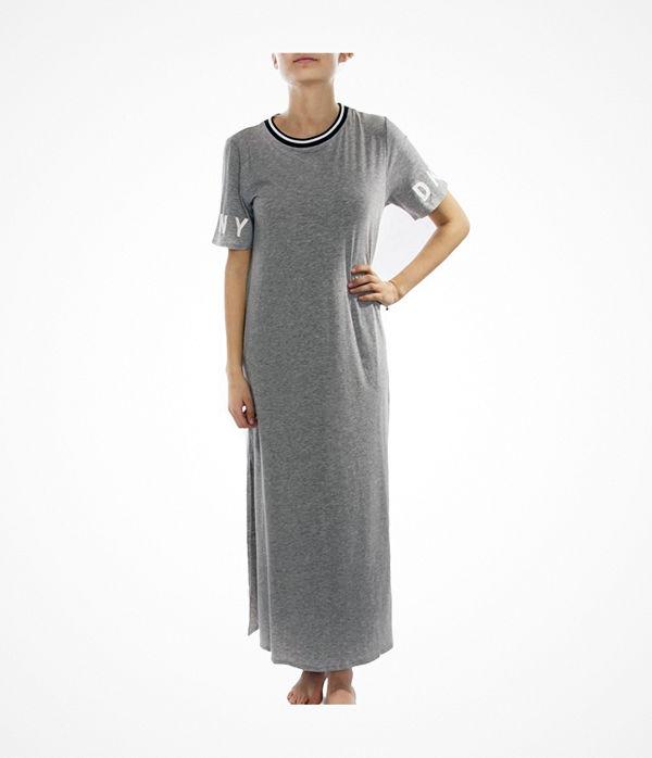 DKNY Spell It Out Sleepshirt Grey