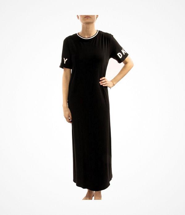 DKNY Spell It Out Sleepshirt Black